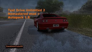 Test Drive Unlimited 2 Remastered Mod   All Cars From AutoPack 1.8 + Unlocked All DLC Cars