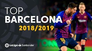 TOP Goals FC Barcelona LaLiga Santander 2018/2019