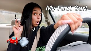 I GOT MY FIRST CAR! (Car Accessories, Cleaning My Car, Etc!) | Vlog
