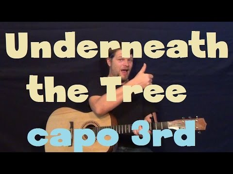 Underneath The Tree (Kelly Clarkson) Easy Strum Guitar Lesson How to Play Tutorial