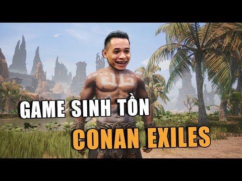 Mixigaming Chơi thử game sinh tồn Conan Exiles cười đau ruột.