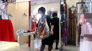 мастер-класс по завязыванию шарфов, платков