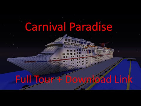 Carnival Paradise 1 1 Scale Full Interior 1 7