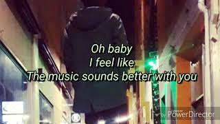 Lyric Video  Music Sounds Better With You By Stardust