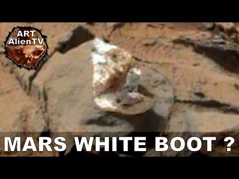 MARS WHITE BOOT OR FUNGUS? LATEST ALIEN OBJECT. ArtAlienTV – MARS ZOO 1080p