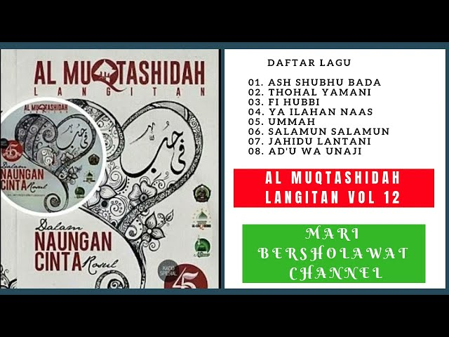 Sholawat Al Muqtashidah Langitan Full Vol 12 Album Mp3