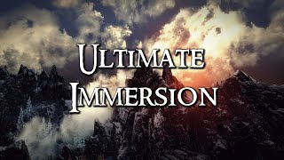 Skyrim Mod Collection - Ultimate Immersion