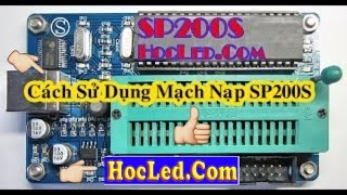 [Willar Sp200S ] How to Load Programs Used For 89xx IC circuit SP200