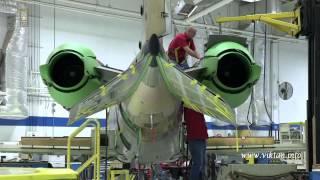 Гиганты Земного шара. Завод - Learjet