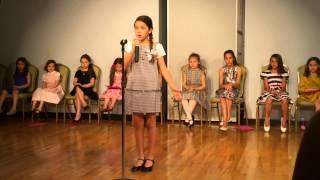 A Chorus Line Musical - Nothing - Live Katalina Age 10