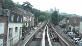 preview picture of video '[Laon] POMA - Gare / Hôtel de Ville par Vaux'