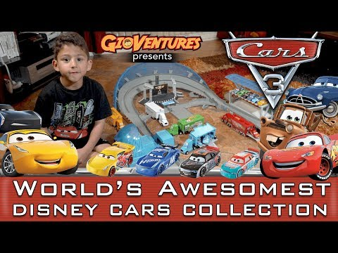 Disney Cars 3 Toys - The Worlds Best Most Awesome Collection