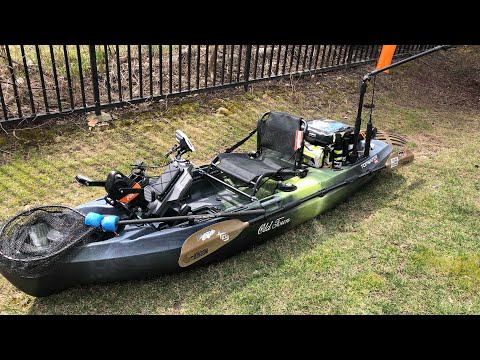 NEW KAYAK and PARACHUTE PFD! (Old Town TOPWATER PDL Overview