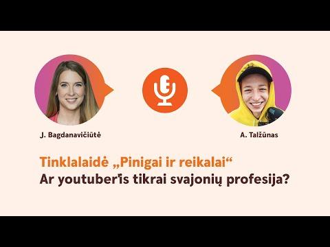 Vaizdo įrašas apie darbą su dvejetainėmis parinktimis