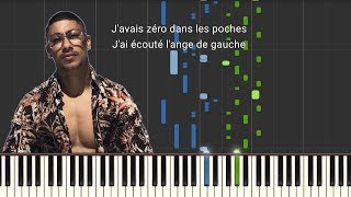 Maes   Billets Verts [Piano Tutorial] (LyricsParoles)