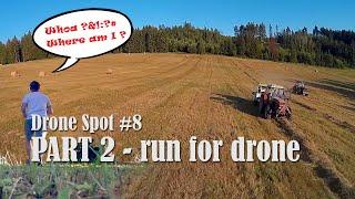 Drone spot #8 - PART 2 - Run for drone #fpv #fpvdrone #fpvfreestyle