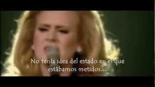 Adele - Don't You Remember (live) (Subtitulada al Español)