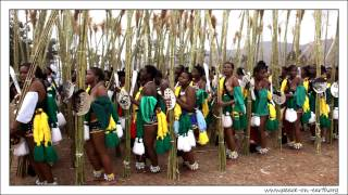 preview picture of video '2012 Umhlanga Reed Dance Ceremony, Swaziland (12)'