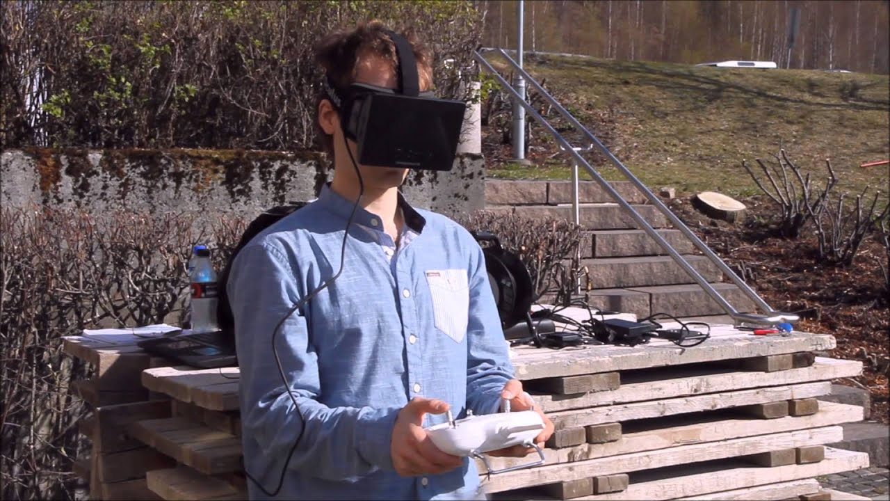 The Perfect Drone Is One With Oculus Rift Head-Tracking Cameras