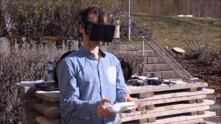 Oculus FPV - a fully immersive live view from a DJI Phantom 2