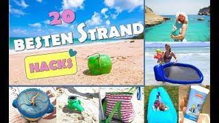 TOP 20 STRAND HACKS | Urlaub Tipps | Urlaub Hacks | Beach Hacks | Best MOM Hacks