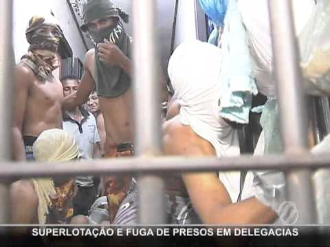 Fuga de presos em Aparecida de Goiânia