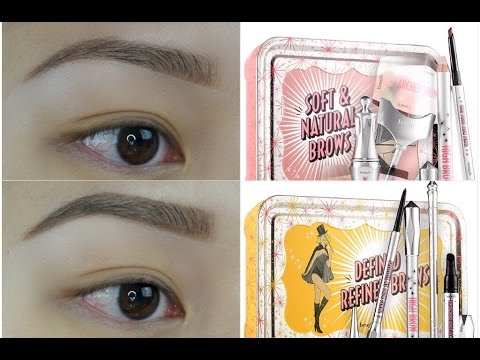 Video How To: BROWS ft. NEW Benefit Brow Kits!