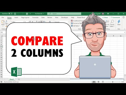 Compare Two Columns in Excel to Find Differences or Similarities