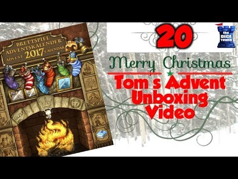 Tom's Advent Calendar Unboxing Video - December 20, 2017