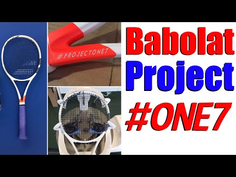 Babolat #ProjectOne7 Tennis Racket Review   Top Tennis Training