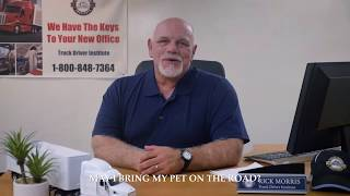 Can You Bring Your Pet On The Road? - Truck Driver Institute
