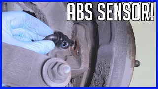 How to Replace ABS Wheel Speed Sensor Video
