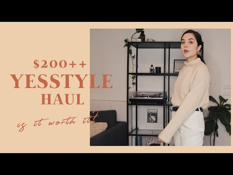 YESSTYLE Haul & Review