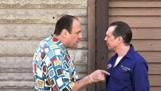 Tony Criticize His Cousin Tony Blundetto   The Sopranos HD