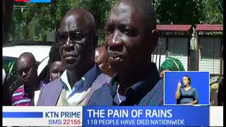 Government Spokesman Cyrus Oguna confirms 118 death in floods
