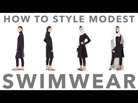 The Modest Swimwear Collection | Style Guide – How To Style Swimwear