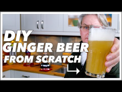 How To Make Ginger Beer At Home    Glen & Friends Cooking