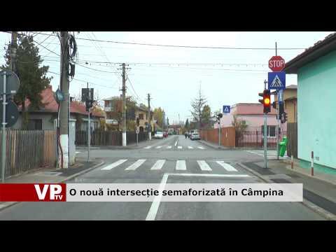 O nouă intersecție semaforizată în Câmpina