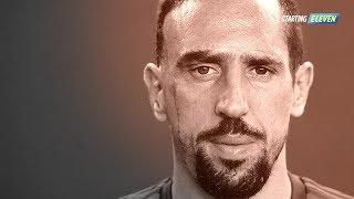 Kisah Pilu Dibalik Bekas Luka Pada Wajah Frank Ribery