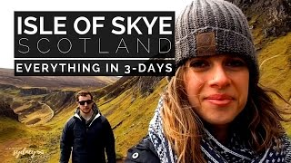 Best Of ISLE OF SKYE Vlog | 3-Days Exploring Everything