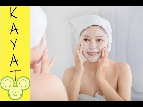 La gélatine pour les masques pour la personne avec le charbon actif