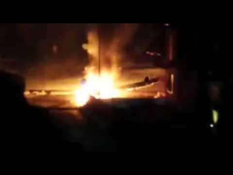 Auto in fiamme a Viggiù