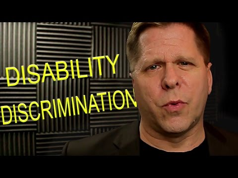 Video - Disability Discrimination