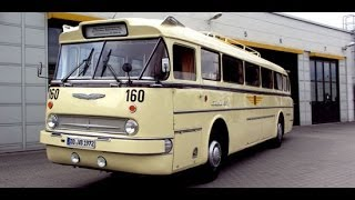 preview picture of video '100 Jahre Bus in Dresden - DVB'