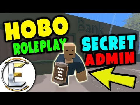 Unturned - HOBO RP | SECRET HOMELESS ADMIN | Do you have any money for the poor ? ( Roleplay )