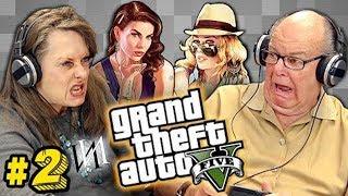 Реакция стариков на GTA V #2 | Пенсионеры Иностранцы  - геймеры играют в игру ГТА 5 [ИндивИдуалист]