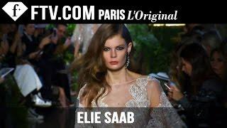 Elie Saab Runway | Paris Couture Fashion Week | FashionTV