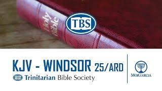 TBS - Windsor KJV Burgundy Hardback