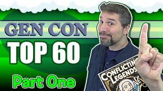 Top 60 Board Games at Gen Con 2019   Part 1