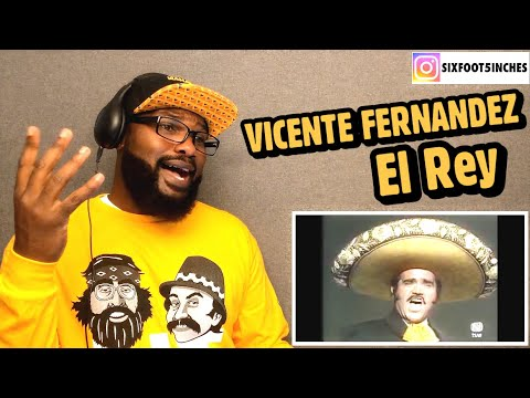 Vicente Fernández - El Rey ( En Vivo ) REACTION